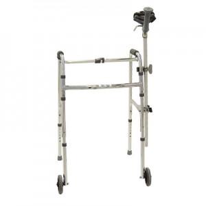 Marchette avec appui pour personnes arthritiques ou hémiplégiques