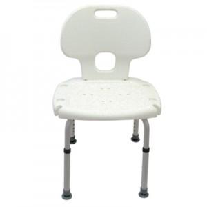 Chaise et banc de bain ajustables résistants à la rouille