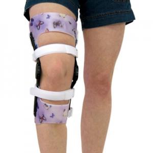 Orthèse du genou sur mesure à partir d'une empreinte plâtrée