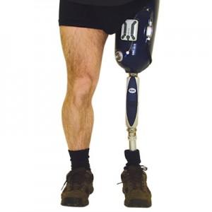 Prothèse fémorale avec système de suspension à valve